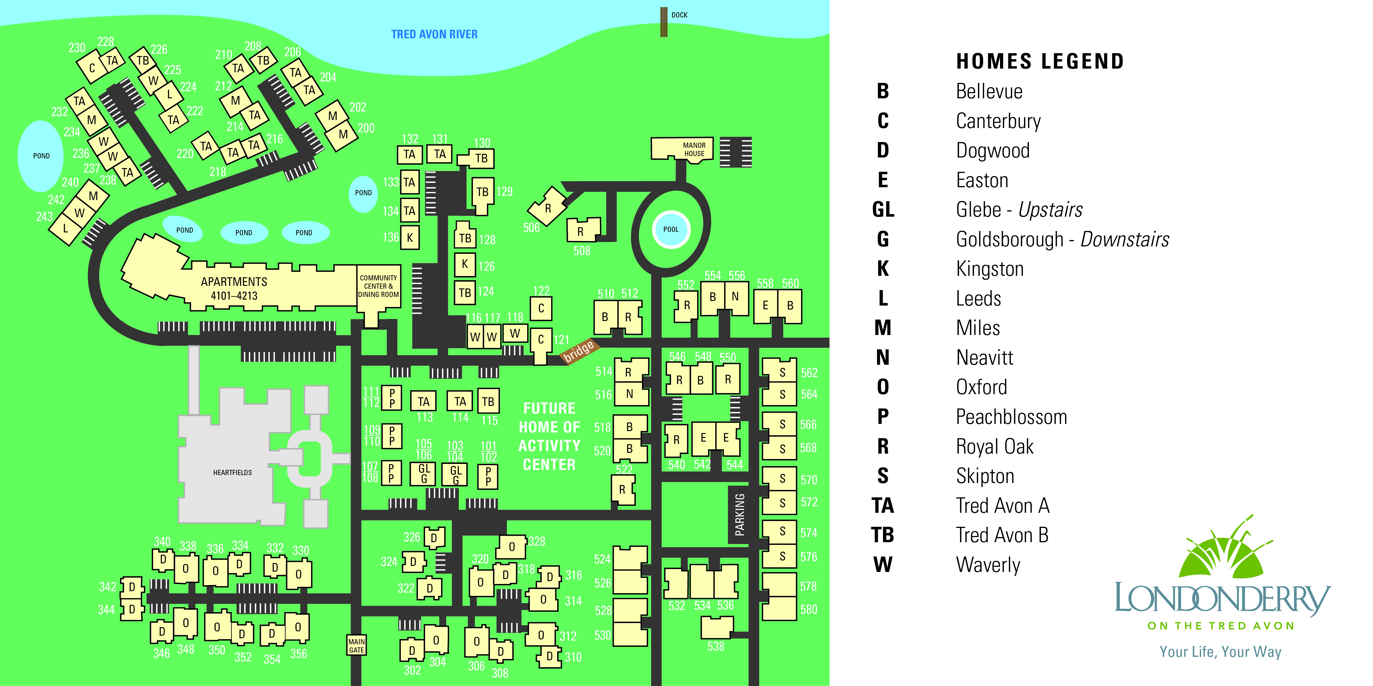 Londonderry Site Plan