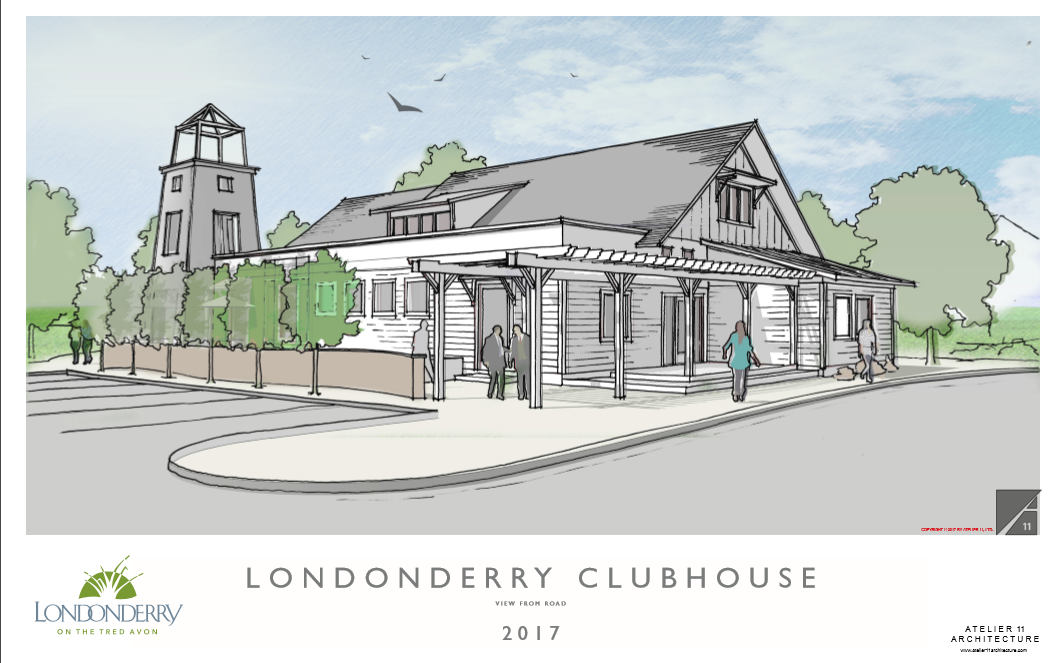 Londonderry Clubhouse Artist Rendering