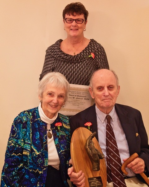 Londonderry on the Tred Avon Residents Inducted into Maryland Senior Citizens Hall of Fame